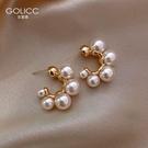 耳釘 小眾設計感珍珠耳飾網紅氣質女耳釘925純銀銀針潮爆款 星河光年