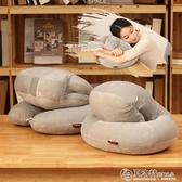 抱枕辦公室午睡神器學生睡覺午休趴趴枕男款小抱枕頭趴著桌上睡枕 LX春季新品