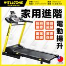 跑步機 V43i 台灣製電動揚昇跑步機電跑 WELLCOME好吉康