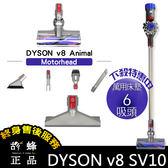 ㊣胡蜂正品㊣ Dyson V8 animal 六吸頭版 獨家加贈 小軟毛刷吸頭 硬漬吸頭 motorhead HEPA sv09 sv10 v6