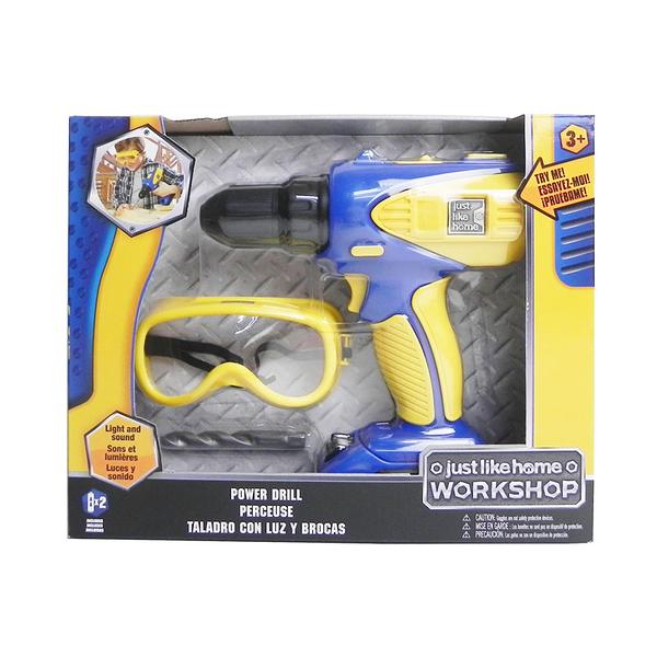 JUST LIKE HOME WORKSHOP DIY工具組-電鑽