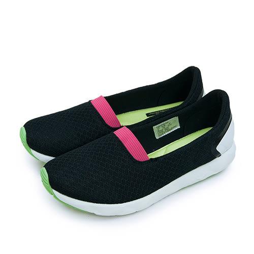 LIKA夢 PONY 極簡時尚休閒鞋 FREE 科技記憶鞋墊系列 黑桃綠 62W1FR63BK 女