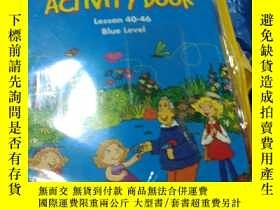 二手書博民逛書店Galaxy罕見Kids ACTIVITY BOOK Lesson 47-52(RED Level,有盤,附六本小