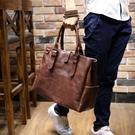 韓版休閒包側背包斜背包手提包旅行包男士潮流 黛尼時尚精品