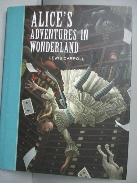 【書寶二手書T9/少年童書_MHR】Alice's Adventures in Wonderland_Carroll,