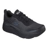 SKECHERS系列-MAX CUSHIONING ELITE男款黑色厚底慢跑鞋-NO.54430BBK