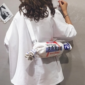 卡通包包女包新款2019可愛帆布少女個性百搭大白兔奶糖單肩斜挎包