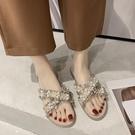拖鞋女外穿夏新款時尚百搭