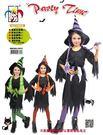 長髮巫婆裝 兒童萬聖節萬聖節裝扮服 聖誕 舞會 派對 洋裝 表演 舞台 小魔女 公主 女孩