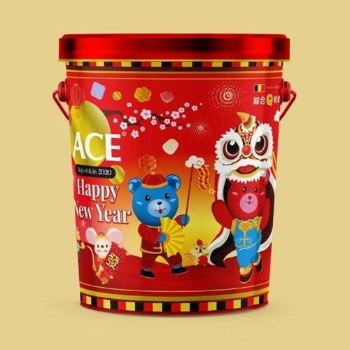 ACE 新年軟糖禮盒 430公克/桶 贈酸熊Q軟糖*1包