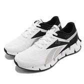 Reebok 慢跑鞋 Zig Dynamica 2.0 白 黑 男鞋 鋸齒鞋底設計 科技大底【ACS】 FY3407