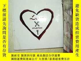 二手書博民逛書店Love罕見menu Margun carless 愛情菜單瑪根·卡萊絲Y203004
