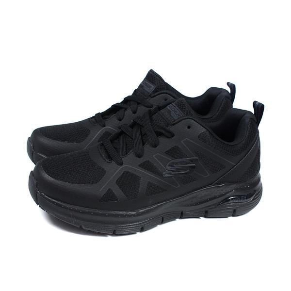 SKECHERS ArchFit 運動鞋 工作鞋 男鞋 黑色 200025WBLK no381