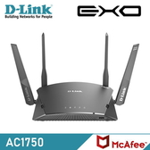 【D-Link 友訊】DIR-1760 AC1750 Wi-Fi Mesh 無線路由器 【加碼送環保軟毛牙刷】