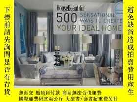 二手書博民逛書店House罕見Beautiful 500 Sensational
