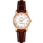 MIDO 美度 Baroncelli 雅典女神機械皮帶手錶 M76003268