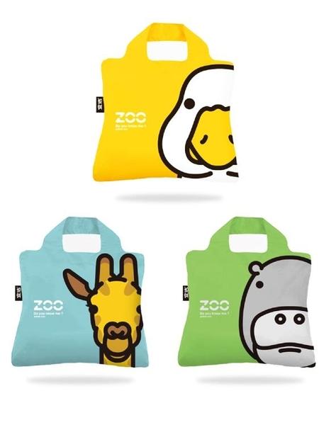 購物袋 宜潔防水購物袋折疊環大保袋春卷包單肩手提收納袋便攜簡約旅行袋