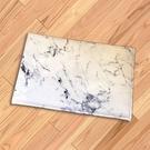 地墊 大理石紋 防滑墊 法蘭絨 地毯 門墊 腳墊 防滑 灰紋大理石紋地墊【V063】米菈生活館