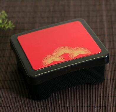 金扇鰻魚飯盒壽司料理便當盒單層帶蓋日式便當盒點心外賣盒【太陽花】