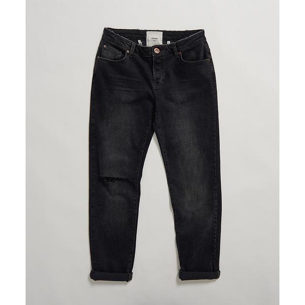 ONETEASPOON WW WORN RAVEN AWESOME BAGGIES STRAIGHT LEG JEAN 牛仔褲-(女)