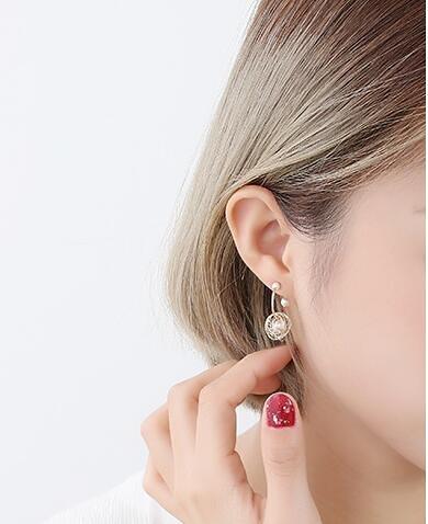 珍珠法式高級感耳環個性夏天氣質耳釘