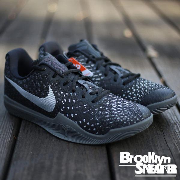 Nike KOBE MAMBA INSTINCT EP 黑銀 籃球鞋 (布魯克林) 2017/2月 884445-001