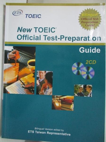 【書寶二手書T1/語言學習_KDV】New TOEIC Official Test-Preparation Guide_ETS