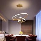 裝飾燈 餐桌燈 床頭燈 臥室燈 免運 110v 輕奢大氣簡約北歐客廳吊燈 玄關過道 吊燈輕奢燈具