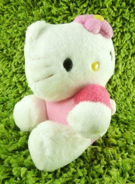 【震撼精品百貨】Hello Kitty 凱蒂貓~KITTY絨毛娃娃-側坐造型