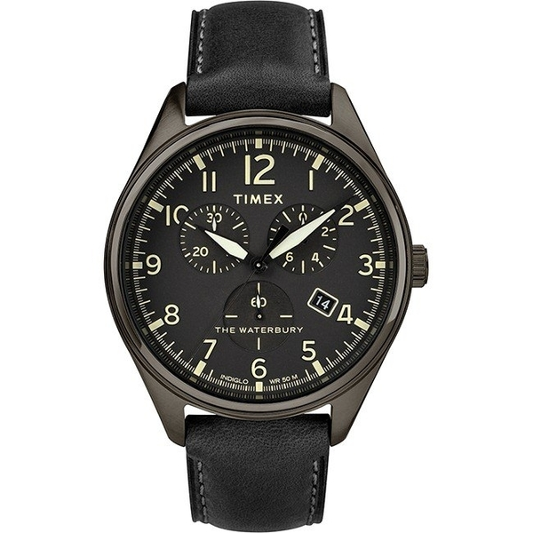 【分期0利率】TIMEX 天美時 三眼錶 全黑 41mm 全新原廠公司貨 TXTW2R88400