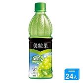 美粒果白葡萄汁蘆薈粒450ML x24罐/箱【愛買】