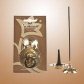 GONESH 線香座 銅製 質感 ,線香 塔香 兩用  香板【GO030】