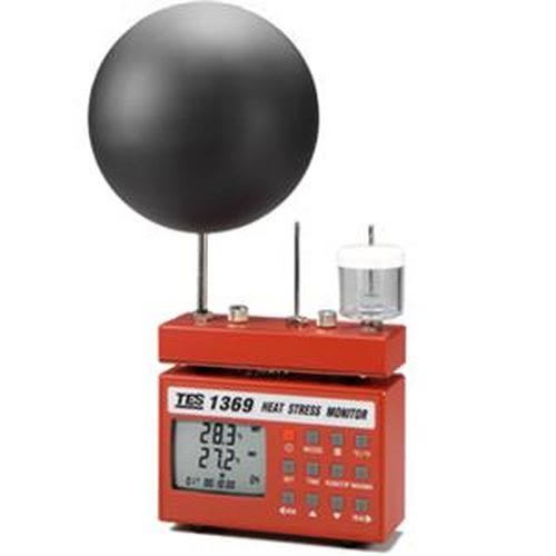 TES泰仕 高溫環境熱壓力監視記錄器 TES-1369B