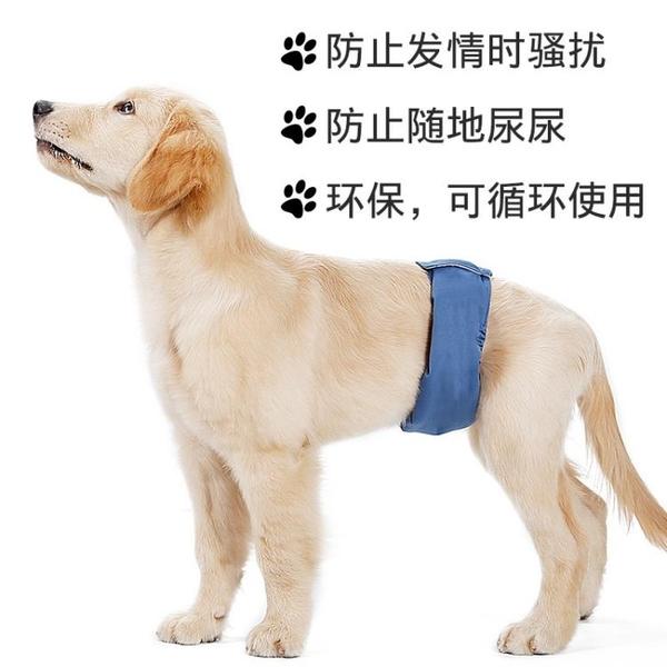 公狗生理褲男狗禮貌帶尿布寵物水洗尿不濕防交配【時尚大衣櫥】