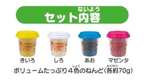 黏DO黏土 四入顏色組 (PINOCCHIO)