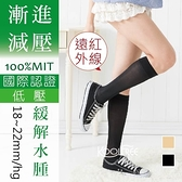 18~22mmHg 小腿襪│壓力襪│彈性襪│漸進減壓│纖柔微透明 遠紅外線系列【康護你】