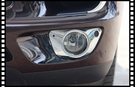 【車王小舖】保時捷 Porsche Macan 前霧燈框 燈框 裝飾框 裝飾條 ABS電鍍精品