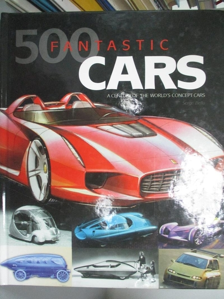 【書寶二手書T3/嗜好_J1Z】500 Fantastic Cars: A Century of the World C