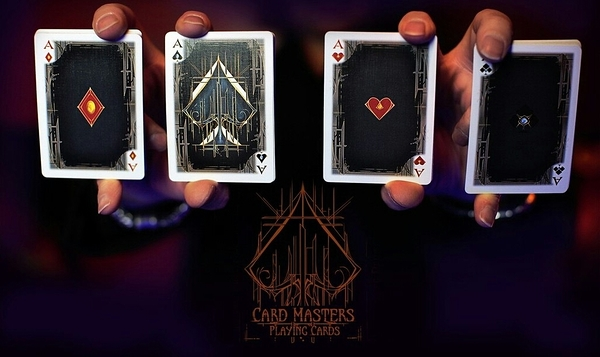 【USPCC 撲克】Card Masters, blue seal 行家撲克藍封標