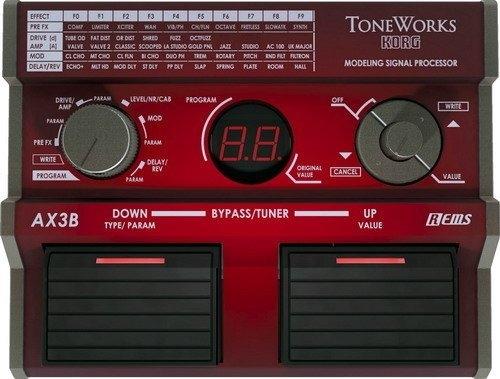 ☆ 唐尼樂器︵☆日本製 Korg AX3B 電貝斯 Bass 地板型綜合效果器(保固一年)