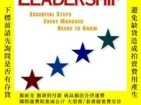 二手書博民逛書店Leadership:罕見Essential Steps Every Manager Needs To Know
