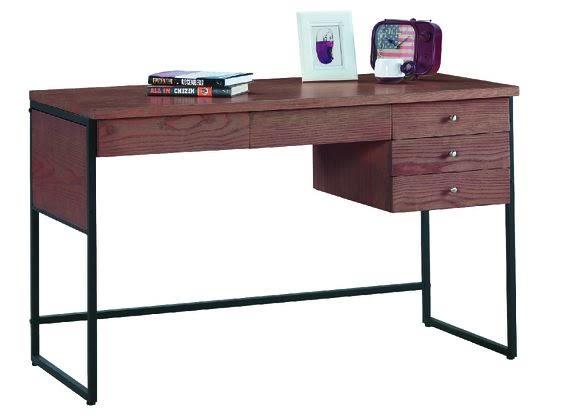 【南洋風休閒傢俱】書桌系列 –戈梅爾4尺胡桃書桌 辦公桌 電腦桌 JX251-1