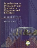二手書《Introduction to Probability and Statistics for Engineers and Scientists》 R2Y ISBN:0125984723