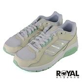 Adidas Neo Run9Tis 螢光 白米綠 網布 透氣 慢跑鞋 女款 NO.J0820【新竹皇家 FZ1715】