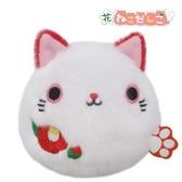 【山茶花沙包貓】新年 山茶花 椿 沙包貓 貓沙包 2020 日本正版 該該貝比日本精品