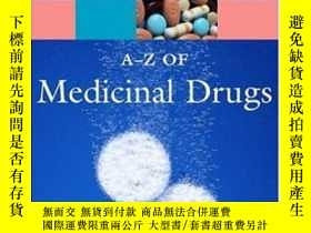 二手書博民逛書店An罕見A-z Of Medicinal Drugs (oxfo