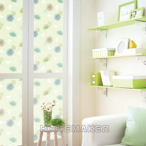 韓國彩繪自黏窗貼_HN-GS12A