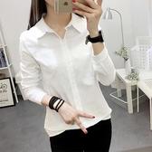 2021春裝新款棉麻襯衫女長袖韓范學生寬鬆職業白襯衣百搭亞麻上衣四季生活