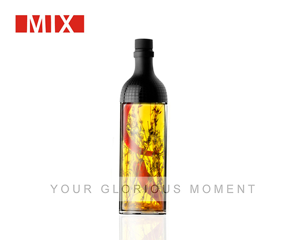 MIX 油醋瓶(極簡黑160ml)