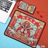 原創滑鼠墊小號個性卡通可愛電競遊戲辦公電腦超大桌墊萌加厚鎖邊 樂活生活館